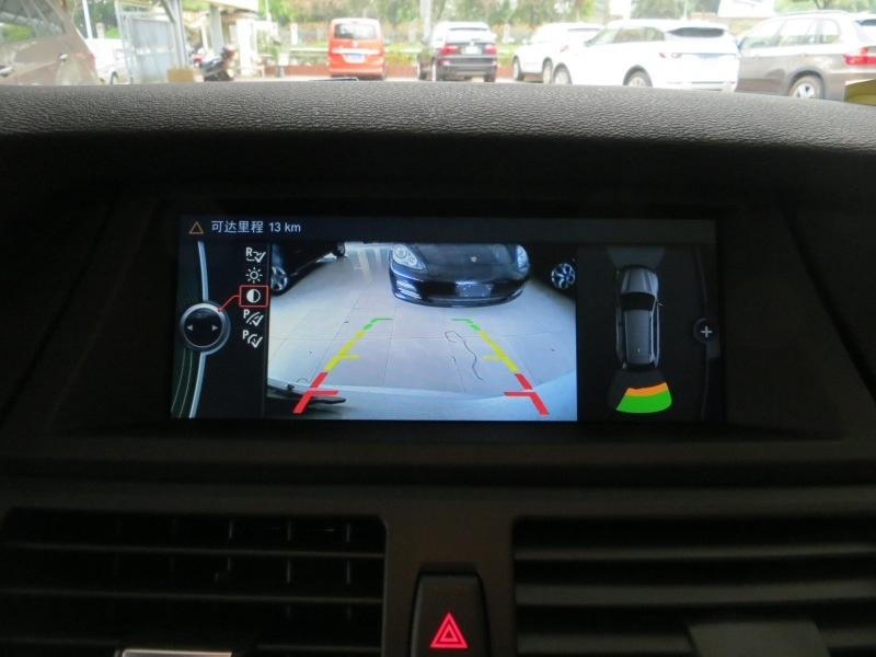 宝马x5 x6 倒车影像模拟器